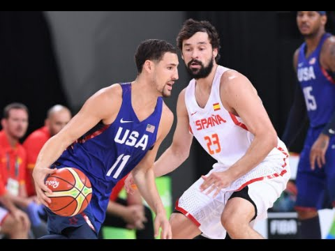 Rio Olympics 2016 - USA Vs Spain - Team USA Basketball 2016