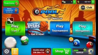 تهكير المال في لعبة 8 ball pool 2016 للاندرويد  How To hack coin for 8ball pool