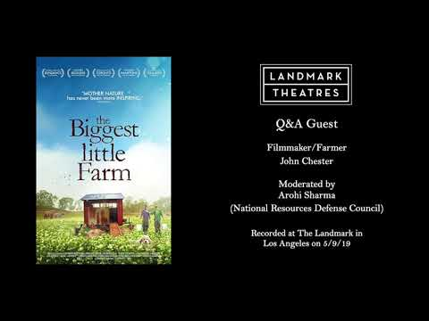 The Biggest Little Farm - John Chester Q&A
