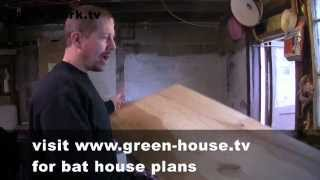 How To Build A Bat House Gardenfork.tv