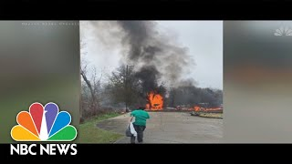 Plane Crash In Louisiana Kills Five And Injures Two Others | NBC News