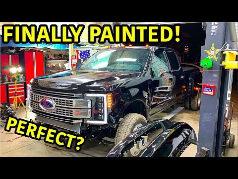 Download Rebuilding A Wrecked 2019 Ford F-450 Platinum Part 9
