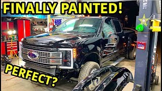 Rebuilding A Wrecked 2019 Ford F-450 Platinum Part 9