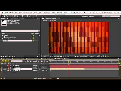04 - Getting Started With Trapcode Form: Custom Particles