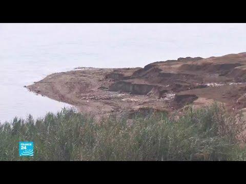 خطر جفاف البحر الميت..البحر يسجل أدنى مستوى له في التاريخ!!  - نشر قبل 38 دقيقة