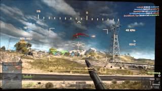 Battlefield 4 Su-25TM Frogfoot take down