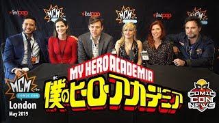 My Hero Academia Voice Actors MCM London Comic Con 2019
