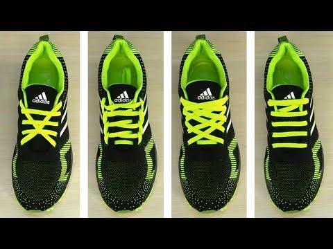 Как зашнуровывать шнурки на кроссовках