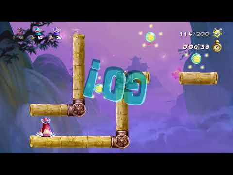 """rayman-legends-(xbox-one)-the-dojo:-0'12""""98-(using-4-controllers)-(d.c)-(13/04/2018)"""
