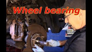 How to replace the wheel bearing on a 2004 Toyota 4 Runner