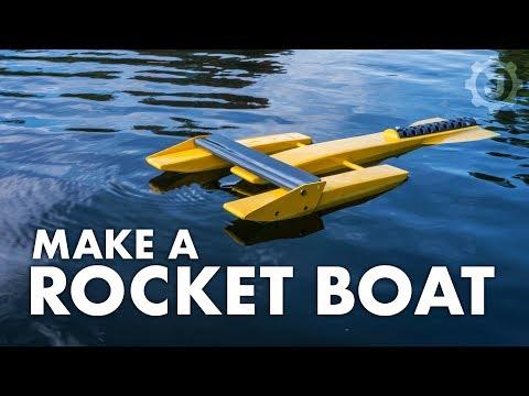 Building a Better (aka Faster) Rocket Boat
