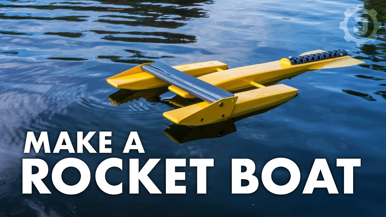 A Better Rocket Boat: 18 Steps (with Pictures)