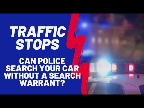 Can Police Search Your Vehicle Without A Search Warrant? | Charleston, SC Criminal Defense Lawyer