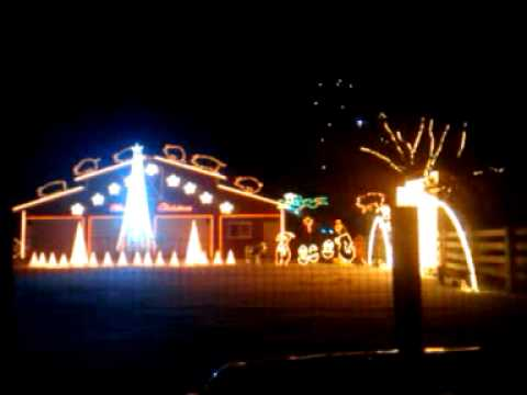 Christmas Light Show To Bud Light Commercial YouTube - Budweiser Christmas Lights