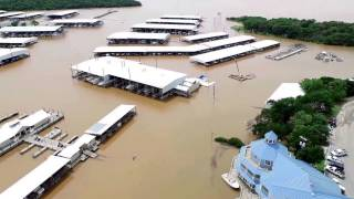 Highport Marina Lake Texoma May 2015 Flood Devastation
