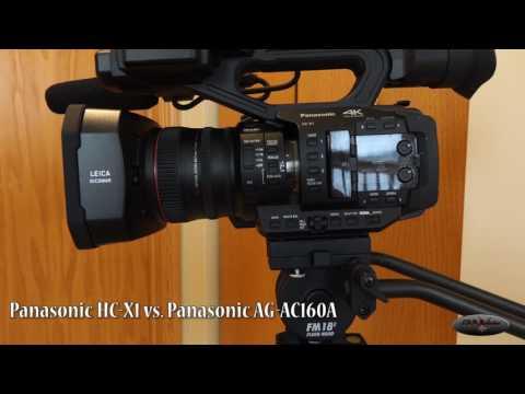 Panasonic HC-X1 Vs.  Panasonic AG-AC160A