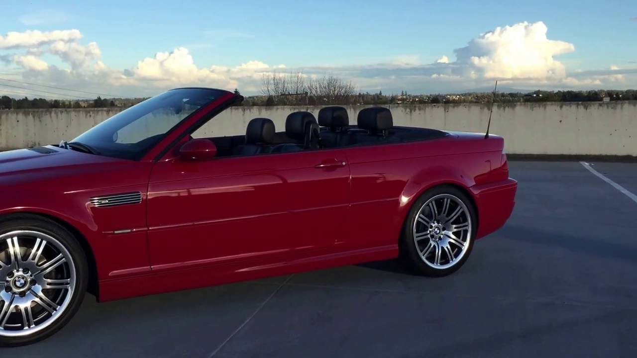 2005 BMW M3 CONVERTIBLE FOR SALE IN LANGLEY, BC, CANADA ...