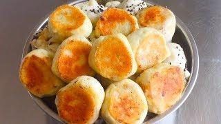 【三丰美食】家里有土豆,必须试试这样做,绵软鲜香又酥脆,出锅吃半盆