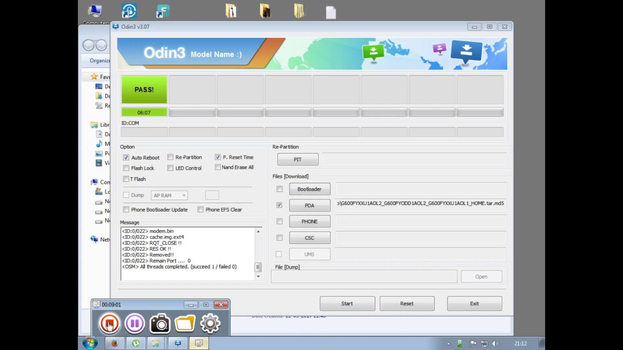 How to Flash Samsung G600FY 100% done odin tool by Smart Phone Help by  Smart Phone Help