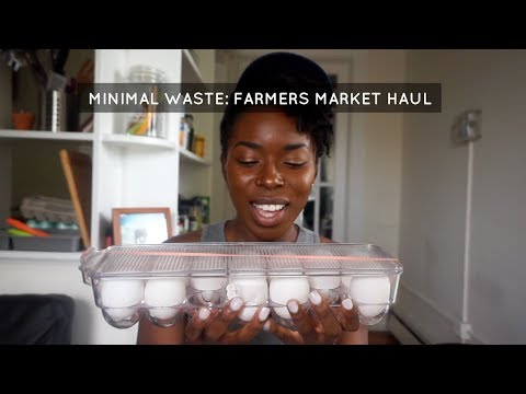 Zero Waste: Farmers Market Haul