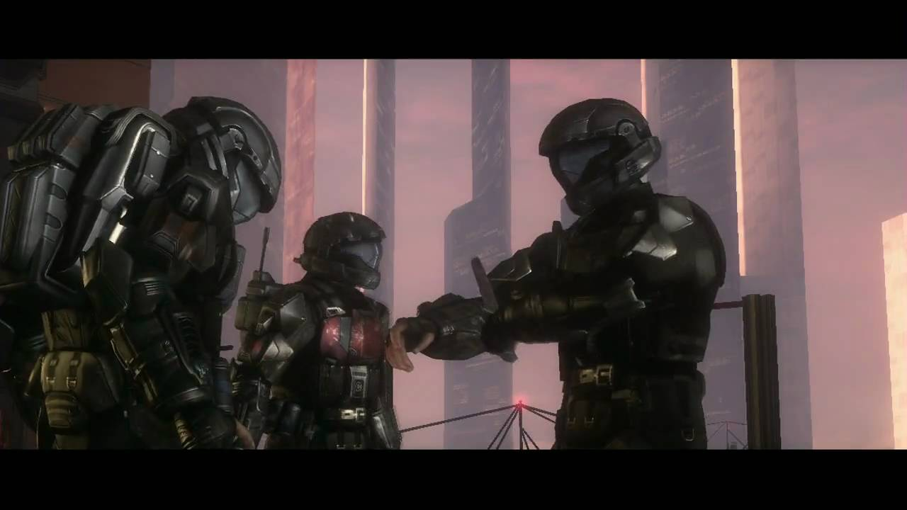 Halo Odst Brute Chieftain Messes Up Romeo Youtube