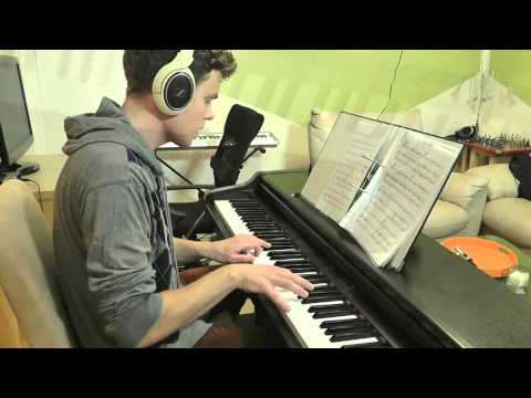 One Direction - Half A Heart - Piano Cover - Slower Ballad Cover