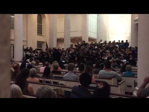 UHWO University Chorus Singing with E Himeni Kākou Collegiate Choirs