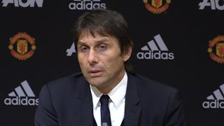 Manchester United 2-0 Chelsea - Antonio Conte Full Post Match Press Conference