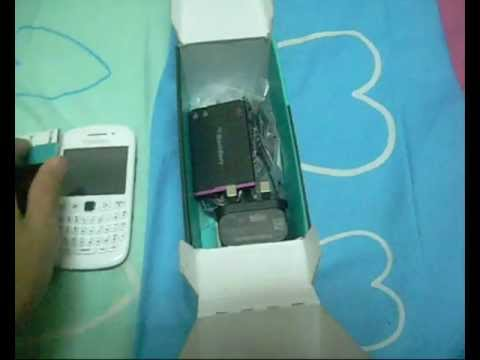 BlackBerry Curve 9220 White Unboxing