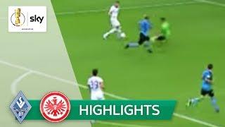 Waldhof Mannheim - Eintracht Frankfurt 3:5 | Highlights - DFB-Pokal 2019/20 | 1. Runde