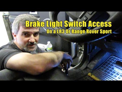 Atlantic British Presents Brake Light Switch Access for an LR3