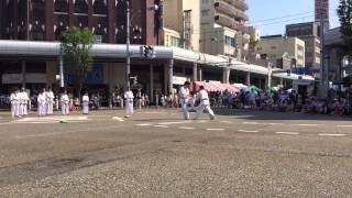 2015年長岡祭りで極真会館新潟南道場は演武会をおこないました!