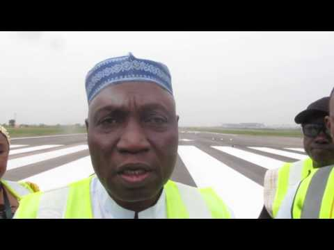 3 days to go:  Abuja Runway Update by FAAN MD