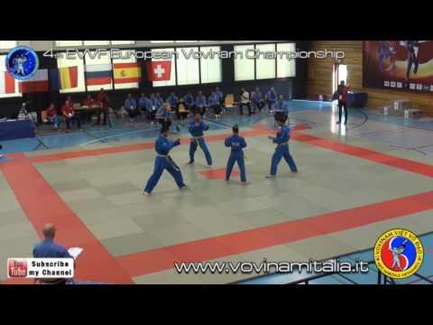 4th EVVF European Vovinam Championship - Da Luyen