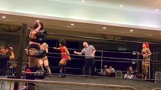 My first Tag-Team Match / Paola Blaze & T-Gainz Vs. La Abusadora & Raven