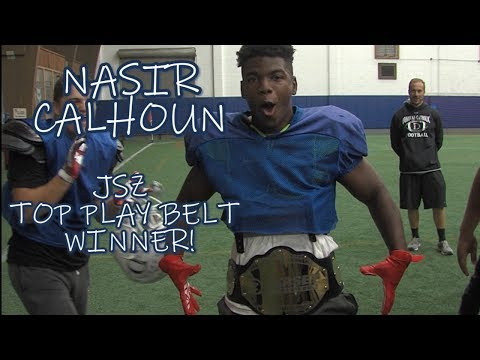 Nasir Calhoun | Donovan Catholic | JSZ Week 4 Top Play Belt Winner