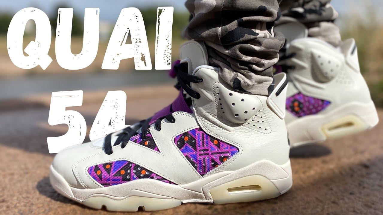 JORDAN 6 QUAI 54 REVIEW \u0026 ON FOOT