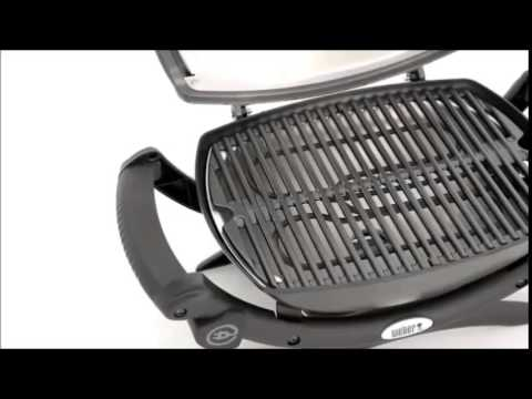 grilled bbq chicken Weber 52020001 Q1400 Electric Grill4 - YouTube