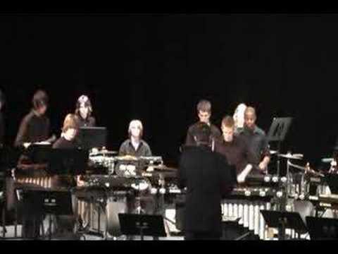 Fishers HS Percussion Ensemble Oye Como Va, --Sant...
