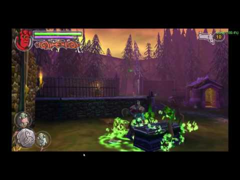 Hellboy Science Of Evil. PSP Version. Gameplay Video. Casual Fun.