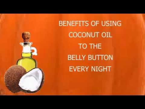 Benefits of applying Coconut Oil In Belly Button
