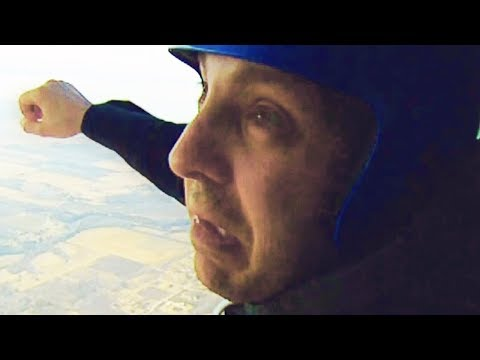 Hilarious First Time Skydive GoPro Video - Leap of Faith
