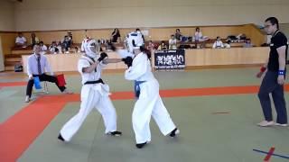 柿沼璃音(伊勢崎市立第一中学校)vs小嶌柚李(伊勢崎市立あずま中学校)