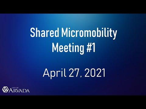 Recording of Public Meeting #1