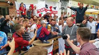 BEST OF England Fans at WORLD CUP 2018
