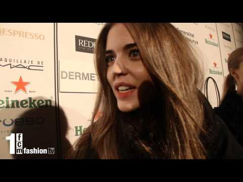 1FCM - Entrevista Clara Alonso - 080 Barcelona Fashion Week