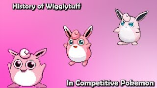 how good was wigglytuff actually history of wigglytuff in competitive pokemon gens 1 6