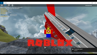 PLANE CRASH IN ROBLOX!!! lel