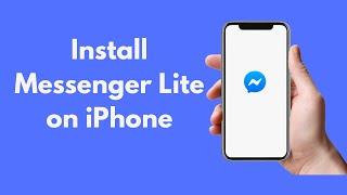 How to Install Messenger Lite on iPhone (2021) screenshot 5