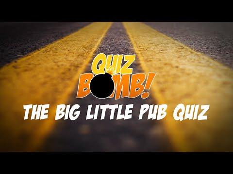 Trivia Quiz • The Big Little Pub Quiz • Road Trip Edition (5 Rounds With 10 Questions + Bonus)